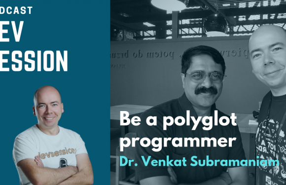 Be a polyglot programmer – Dr. Venkat Subramaniam