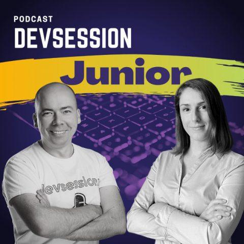 okładka podcastu dla junior programistów